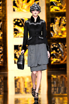 Christian Dior F/W'09 - Michaela Kocianova