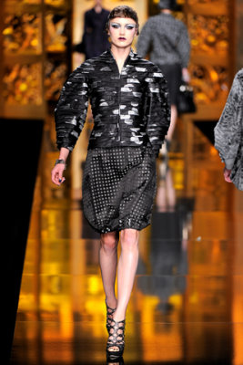 Christian Dior F/W'09 - Karmen Pedaru