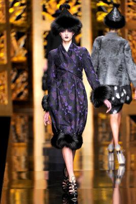Christian Dior F/W'09 - Sigrid Agren