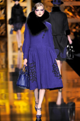 Christian Dior F/W'09 - Kasia Struss