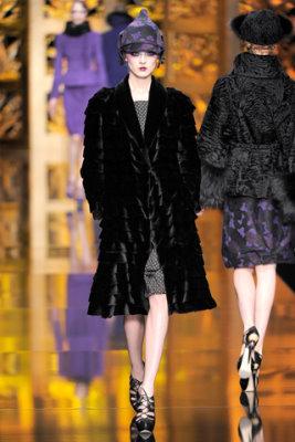 Christian Dior F/W'09 - Olga Sherer