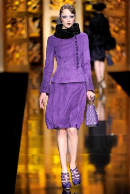 Christian Dior F/W'09 - Raquel Zimmermann