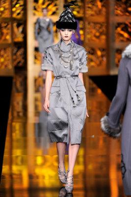 Christian Dior F/W'09 - Heidi Mount