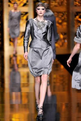 Christian Dior F/W'09 - Irina Kulikova