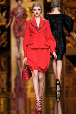 Christian Dior F/W'09 - Siri Tollerod