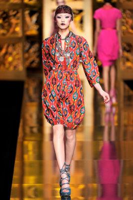 Christian Dior F/W'09 - Liu Wen