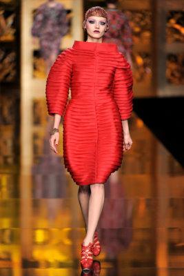 Christian Dior F/W'09 - Anna Jagodzinska