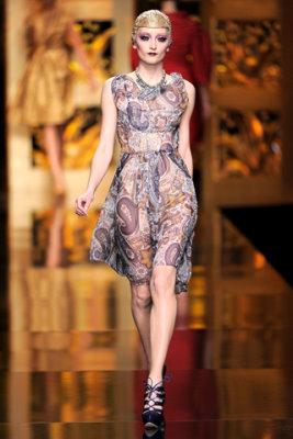Christian Dior F/W'09 - Iekeliene Stange