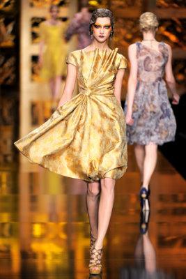 Christian Dior F/W'09 - Ksenia Kahnovich