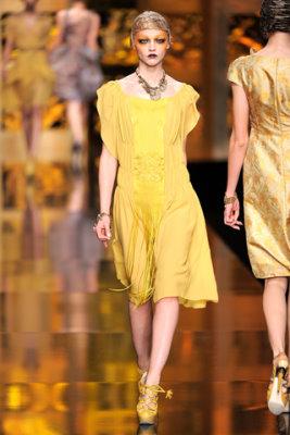 Christian Dior F/W'09 - Sasha Pivovarova