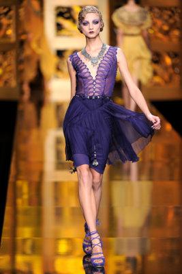 Christian Dior F/W'09 - Anna Selezneva