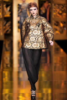 Christian Dior F/W'09 - Coco Rocha
