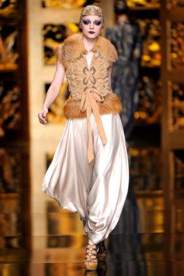 Christian Dior F/W'09 - Jessica Stam