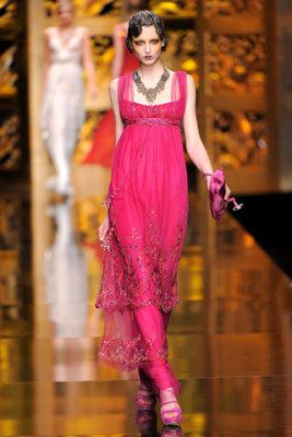Christian Dior F/W'09 - Georgina Stojilkovic