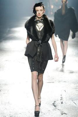 Lanvin F/W'09 - Olga Sherer