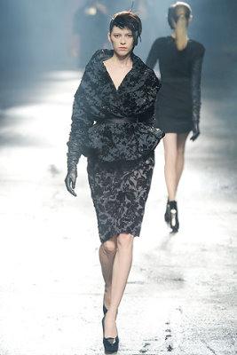Lanvin F/W'09 - Yulia Kharlaponova