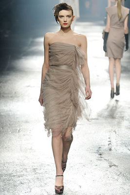 Lanvin F/W'09 - Lily Donaldson