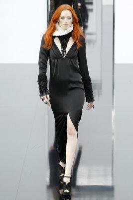 Chanel F/W'09 - Karen Elson
