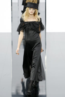 Chanel F/W'09 - Sasha Pivovarova