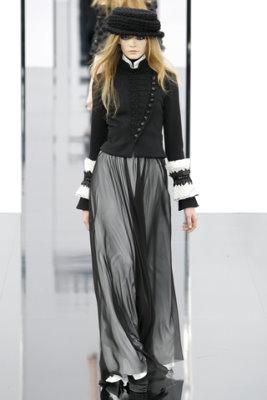 Chanel F/W'09 - Nimue Smit