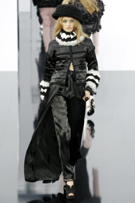 Chanel F/W'09 - Anna Jagodzinska