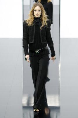 Chanel F/W'09 - Raquel Zimmermann