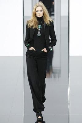 Chanel F/W'09 - Toni Garrn
