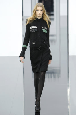 Chanel F/W'09 - Sigrid Agren