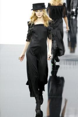 Chanel F/W'09 - Jessica Stam