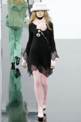 Chanel F/W'09 - Siri Tollerod