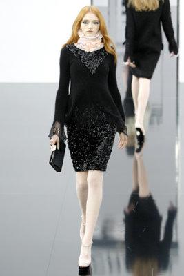 Chanel F/W'09 - Vlada Roslyakova