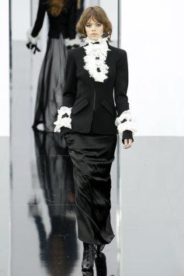 Chanel F/W'09 - Freja Beha Erichsen