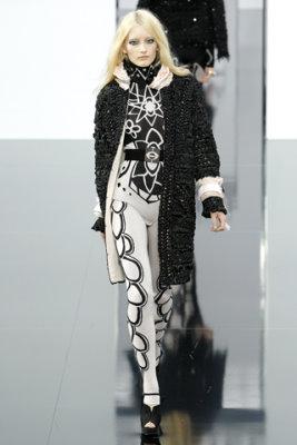 Chanel F/W'09 - Iekelene Stange