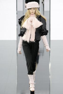 Chanel F/W'09 - Tanya Dziahileva