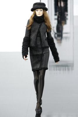 Chanel F/W'09 - Irina Kulikova