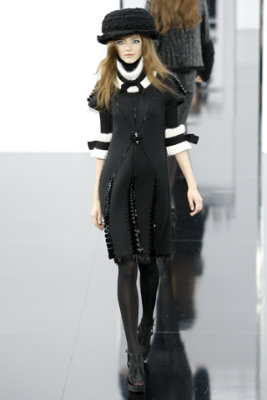 Chanel F/W'09 - Imogen Morris Clarke