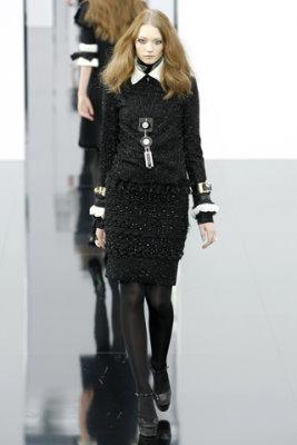 Chanel F/W'09 - Johanna Jonsson