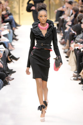Louis Vuitton F/W'09 - Jourdan Dunn