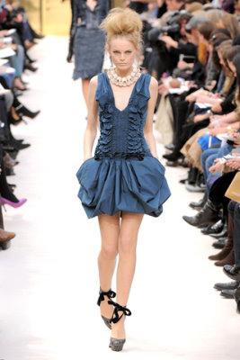 Louis Vuitton F/W'09 - Hanne Gaby Odiele