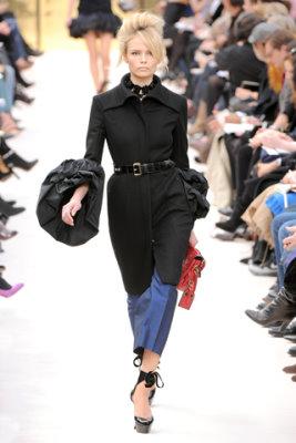 Louis Vuitton F/W'09 - Natasha Poly