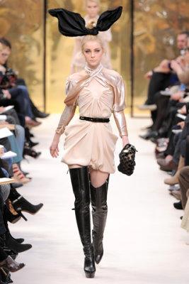 Louis Vuitton F/W'09 - Jessica Stam