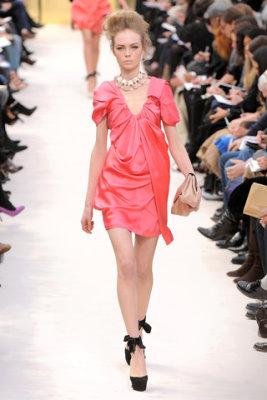 Louis Vuitton F/W'09 - Siri Tollerod