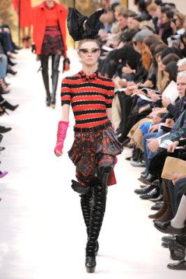 Louis Vuitton F/W'09 - Olga Sherer