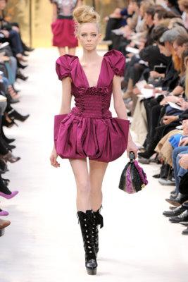 Louis Vuitton F/W'09 - Tanya Dziahileva
