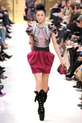 Louis Vuitton F/W'09 - Liu Wen