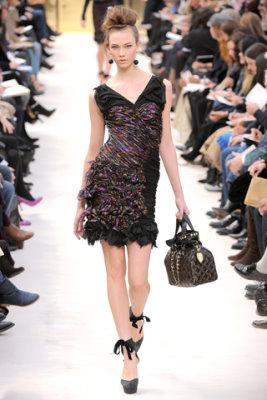 Louis Vuitton F/W'09 - Karlie Kloss