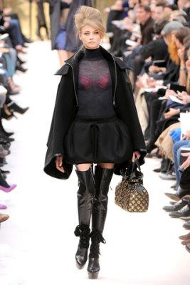 Louis Vuitton F/W'09 - Anna Selezneva