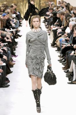 Louis Vuitton F/W'09 - Kasia Struss