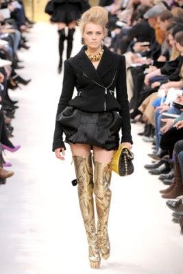 Louis Vuitton F/W'09 - Anna Jagodzinska