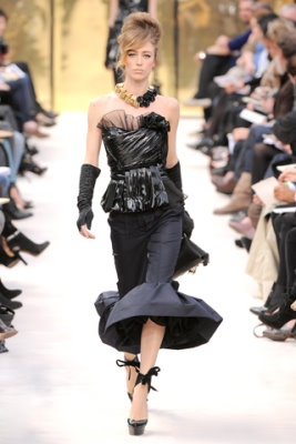 Louis Vuitton F/W'09 - Raquel Zimmermann